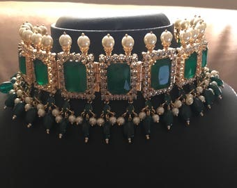 Indian necklace | Wedding Jewelry | Pink Indian Jewelry | Desi Jewelry | Indian Bridal Jewelry | Kundan Jewelry | Indian Wedding Jewelry