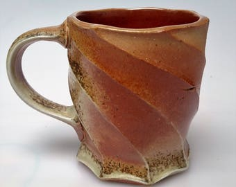 Woodfired Porcelain Shino Mug