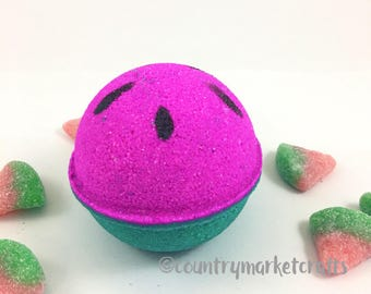 Watermelon Candy Bath Bombs - Vegan Bath Bomb Natural Bath Fizzy