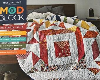 ModBlock Magazine/Book from Missouri Star Quilt Co