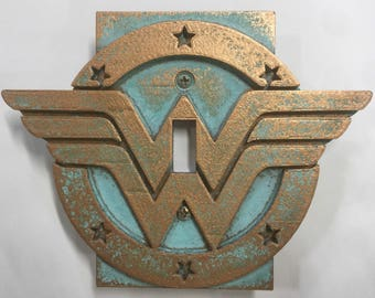 Wonder Woman - Light Switch Cover
