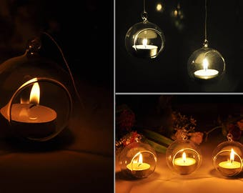 20 Pieces 8 CM Diameter candle holder Hanging Decoration Ball Events
