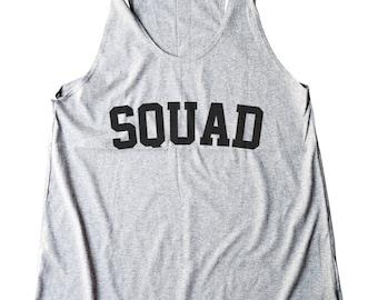 Squad Shirt Funny Shirt Saying Shirt Trendy Tshirt Fashion Tees Quote Slogan Women Tee Shirt Racerback Shirt Women Tank Top Shirt Teen Shirt