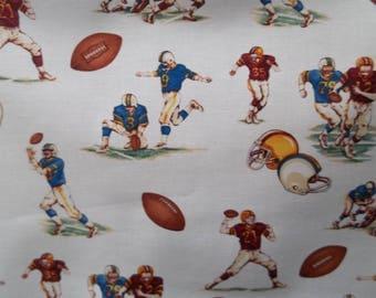 Football Print Fabric