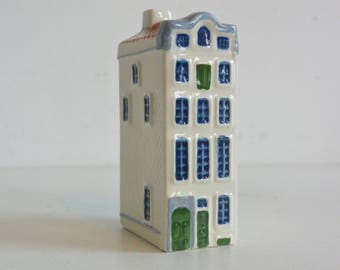 Miniature house Canal House figural miniature bottle  Keizersgracht AMSTERDAM Royal Goedewagen