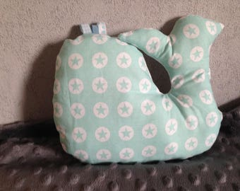 Beautiful decorative cushion for the little calf baby bed