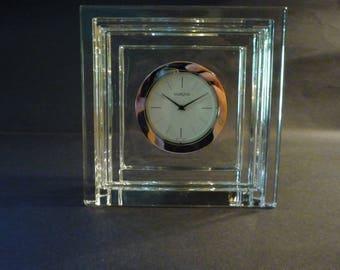 Waterford Marquis Large Crystal Clock