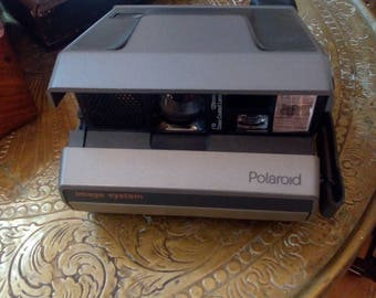 Polaroid camera image system with case, Polaroid camera image system with bag
