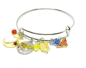 Wonder Woman Bangle Bracelet