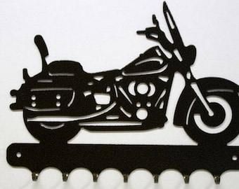 Hangs 26 cm pattern metal keys: motorcycle Harley Heritage Softail