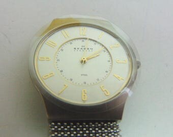New Never Used Watch by Skagen of Denmark w/ Mesh Band #E762