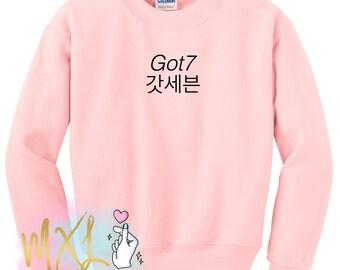 Got7 Crewneck Sweatshirt