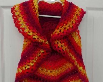 Crochet Child's Vest
