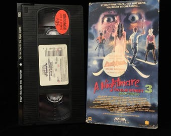 A Nightmare in Elm Street 3 Dream Warriors VHS