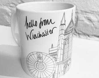 Hello From Winchester Mug
