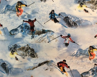 Downhill Skiing Fabric