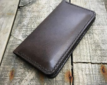 iPhone 5 case leather wallet iPhone SE wallet case iPhone SE case leather Phone case iPhone SE wallet Kangaroo leather wallet