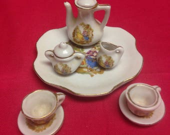 Miniature Children's Tea Set