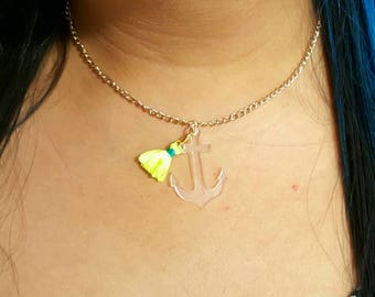 Perfect anchor necklace