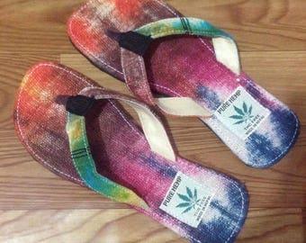 THC Free Bohemian/Gypsy  Hemp Flip Flop/Sandal