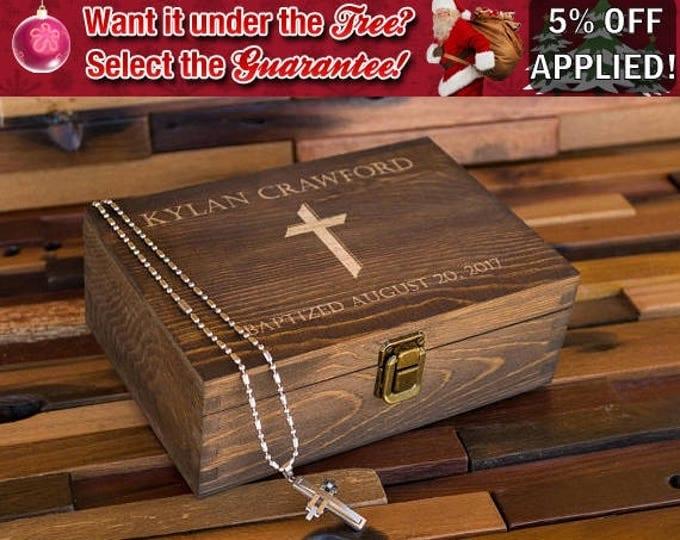 Baptism Gift, Baptism Memory Box, Keepsake Box, Baptism Gift for Boy, Gift for Girl, Christening Gift Box, Gift Ideas, Baptized Baby MB1