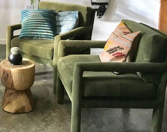 Vintage Parsons Chairs