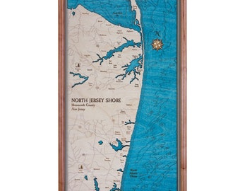 Northern Jersey Shore Serving Tray