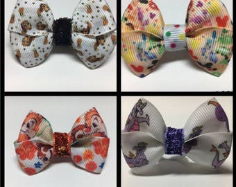 Magic Band Bow Bows Passholder Figment Chip Dale Disney Toy Story Slink Slinky