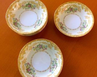 Vintage Noritake Morimura Wotan Dessert Plates Set of 6