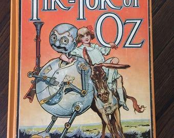 Tik-Tok of Oz by L. Frank Baum 1914