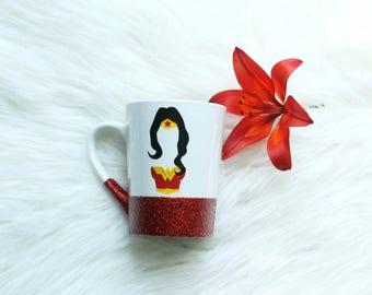 We all have wonder woman inside us/wonder woman mug/wonder woman cup/superhero mug/wonder woman movie/wonder woman decal/wonder woman gifts