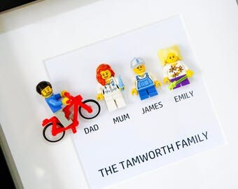 Mothers Day Gift - Lego® Family Frame