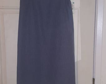 Vintage Macy's washable wool skirt