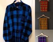 3 African shirts bundle - Maasai Shuka