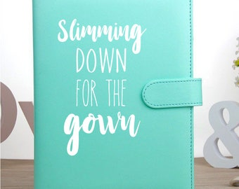 Wedding Food Diary / Wedding Planner / Wedding Diet planner / Wedding Diet Diary / Food Diary / Diet Diary / Diet Planner / Meal Planner