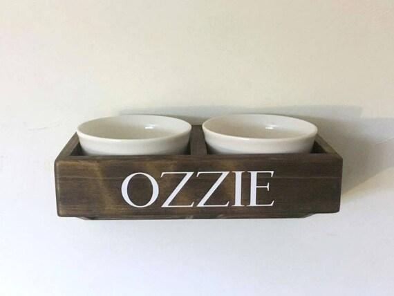 Wall Mounted Dog Feeder Dog Bowls Pet Feeding Station