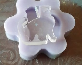 Stamen in soft silicone CAT SILHOUETTE