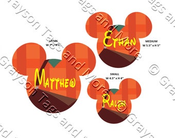 Ralph from Wreck It Ralph Inspired Mouse Head Disney Cruise Door Magnet (3 sizes to choose from)