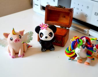Cute Polymer Clay Critters