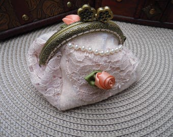shabby style purse
