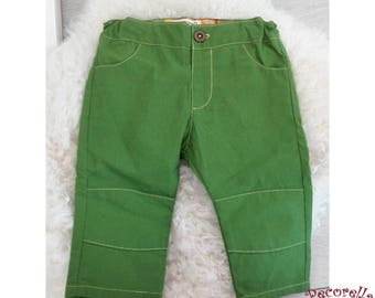 Boy's trousers/ pants green