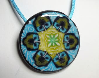 Very summery necklace fantasy flower