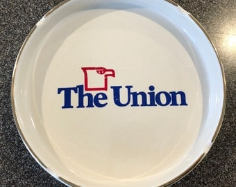 "Vintage 6-1/2""Diameter Ashtray, The Union"
