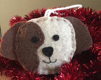 Puppy ornament/gift tag
