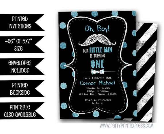 Little man first birthday invitations mustache invitation little il570xn filmwisefo