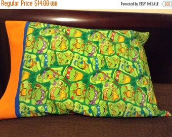 Spring Sale Teenage Mutant Ninja Turtle Pillowcase, TMNT, Teenage Mutant Ninja Turtle Bedding, Boys Bedding