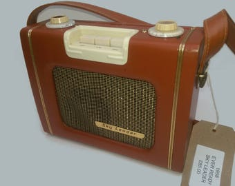 VINTAGE BLUETOOTH SPEAKER Original 1958 Ever Ready Sky Leader Radio Converted to a Bluetooth Speaker!