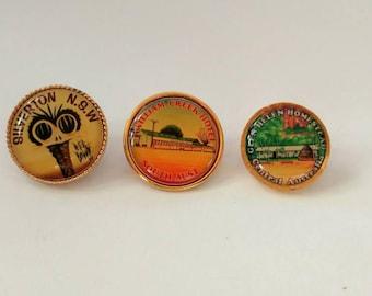 Vintage lot Australian souvenir pins Silverton