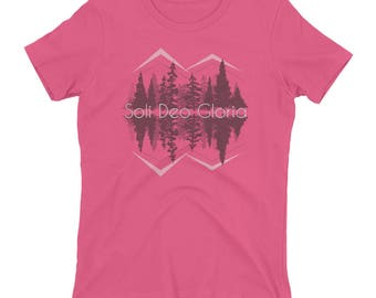 Soli Deo Gloria Ladie's t-shirt