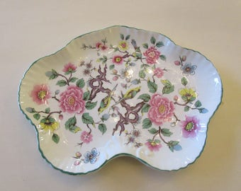 ENGLAND JAMES KENT Old Foley Chinese Rose Tray